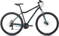 Велосипед Forward Sporting 29 2.0 Disc 2020-2021 / RBKW1M19G014 (19, черный/бирюзовый) -