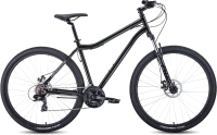 Велосипед Forward Sporting 29 2.2 Disc 2021 / RBKW1M19G002 (17, черный/темно-серый) -
