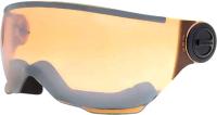 Визор для горнолыжного шлема Alpina Sports Carat LE Visor A31 / A90849-10 (оранжевый/серебряный) -