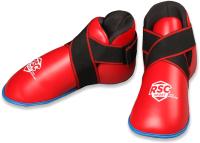Защита стопы RSC PU BF BX 801 (S, красный/черный) -