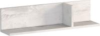 Полка Мебель-КМК Атланта 4 0741.12 (бетон пайн светлый) -
