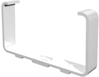 Крепеж-клипса для трубы ERA Для плоского воздуховода 511ДКП -