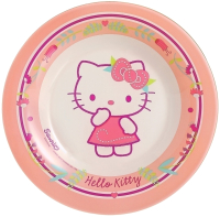 Тарелка закусочная (десертная) Luminarc Hello Kitty Nordic Flower / J0036 (розовый) -