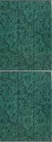 Экран-дверка Comfort Alumin Темно-зеленый 73x200 -