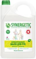 Мыло жидкое Synergetic Мелисса и ромашка чистота и ультразащита 99.9% (3.5л) -