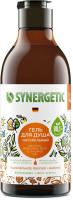 Гель для душа Synergetic Натуральный Биоразлагаемый Карамельное яблоко и ваниль (380мл) -