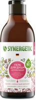 Гель для душа Synergetic Натуральный Биоразлагаемый Пачули и ароматный бергамот (380мл) -