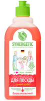 Средство для мытья посуды Synergetic Для детских игрушек с ароматом арбуза (500мл) -