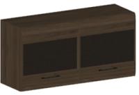 Антресоль Лером Камелия АН-2653-ГТ-К (гикори джексон темный/комбинированный венге) -