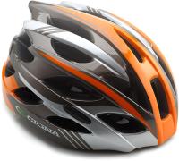Защитный шлем Cigna WT-016 57/61 (черный/оранжевый/серый) -