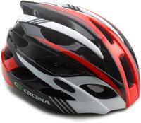Защитный шлем Cigna WT-016 57/61 (черный/красный/белый) -