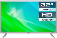 Телевизор Prestigio Mate 32 / PTV32SN04Z (серебристый) -