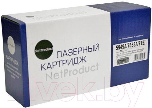 Купить Картридж NetProduct, N-Q5949A/Q7553A, Китай, черный
