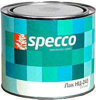 Лак Specco НЦ-243 (1.8кг, матовый) -
