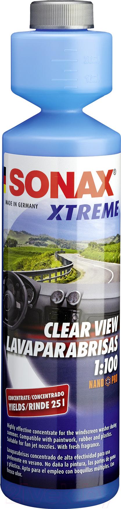 Купить Жидкость стеклоомывающая Sonax, 271141 Лето (250мл), Германия, лето