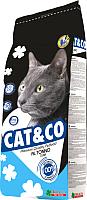 Корм для кошек Adragna Cat&Co Fish (2кг) -