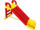 Горка Doloni Веселый спуск / 014400/02 (жёлтый/красный) -