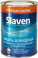 Эмаль Slaven ПФ-115 (20кг, красно-коричневый) -
