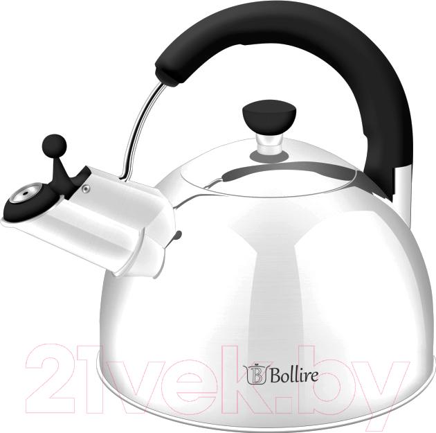 Купить Чайник со свистком Bollire, BR-3007, Китай, нержавеющая сталь
