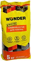 Клей для плитки Wunder Универсальный (5кг) -
