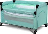 Кровать-манеж Caretero Esti (Mint) -
