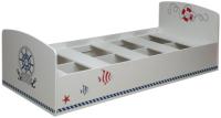 Односпальная кровать Олмеко Лего 2 (кораблик/белый) -