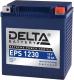 Мотоаккумулятор DELTA EPS 1230 YTX30HL-BS / YTX30L-B / YTX30L (30 А/ч) -