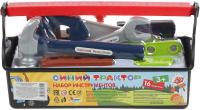 Набор инструментов игрушечный Играем вместе Синий Трактор / B1919799-R -
