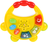 Музыкальная игрушка Умка Бубен музыкальный с проектором / B1576450-R-N -