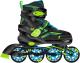 Роликовые коньки Ridex Remi M (р-р 35-38, зеленый) -