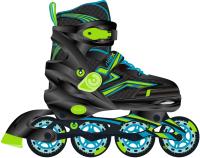 Роликовые коньки Ridex Remi S (р-р 31-34, зеленый) -