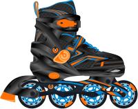 Роликовые коньки Ridex Remi S (р-р 31-34, оранжевый) -