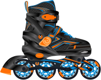 Роликовые коньки Ridex Remi L (р-р 39-42, оранжевый) -