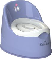 Детский горшок Kidwick Гигант / KW060502 (фиолетовый/белый) -