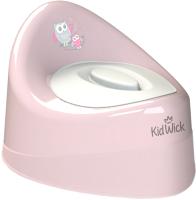 Детский горшок Kidwick Ракушка / KW030302 (розовый/белый) -
