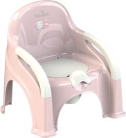 Детский горшок Kidwick Премьер / KW110302 (розовый/белый) -