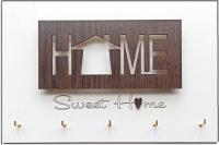 Ключница настенная Grifeldecor Sweet Home Small / BZ212-4W424 -