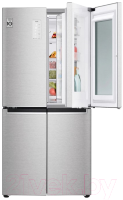 Холодильник с морозильником LG DoorCooling+ GC-Q22FTAKL