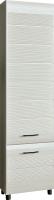 Шкаф-пенал Лером Камелия ШК-2641-СЯ (снежный ясень) -