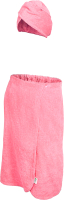 Набор текстиля для бани Банные Штучки 33482 (розовый) -