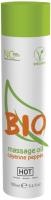 Эротическое массажное масло HOT Bio Massage Oil Cayenne Pepper / 44153 (100мл) -