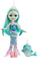 Кукла с аксессуарами Mattel Enchantimals с питомцем / GJX41 -