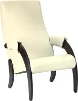 Кресло мягкое Импэкс 61М (венге/Dundi 112) -