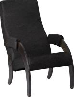 Кресло мягкое Импэкс 61М (венге/Dundi 108) -