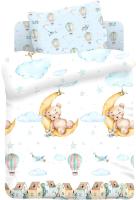 Комплект постельный детский Непоседа Juno. Лунный мишка / 699154 -