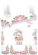 Комплект постельный детский Непоседа Juno. Зайка балерина / 695862 -