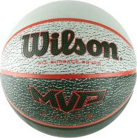 Баскетбольный мяч Wilson MVP Elite / WTB1460XB07 (размер 7, серый/красный/черный) -