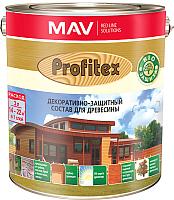 Защитно-декоративный состав MAV Профитекс (10л, бесцветный) -