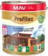 Защитно-декоративный состав MAV Профитекс (10л, красное дерево) -