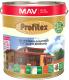Защитно-декоративный состав MAV Профитекс (3л, светлый орех) -